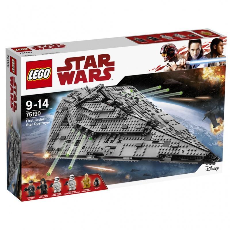LEGO® Star Wars Hvězdný destruktor Prvního řádu 75190