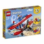 LEGO® CREATOR Odvážné kaskadérské letadlo 31076