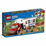 LEGO® CITYPick-up a karavan 60182