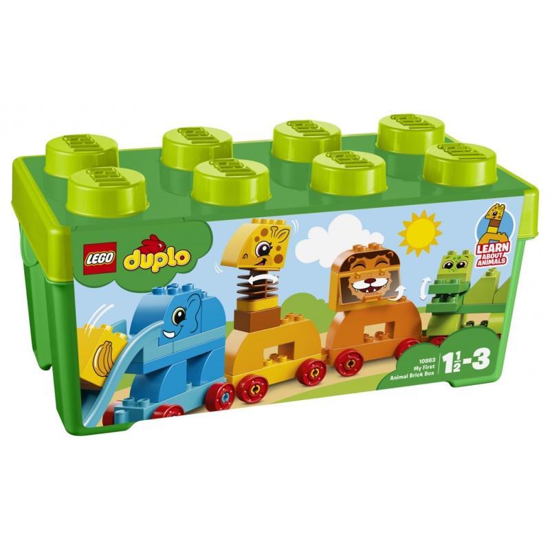 LEGO® DUPLO Můj první box se zvířátky 10863