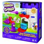 Kinetic sand středověká věž s doplňky