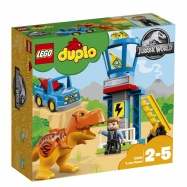LEGO® Jurassic World T. rex a věž 10880