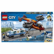 Lego City Letecká policie a loupež diamantu