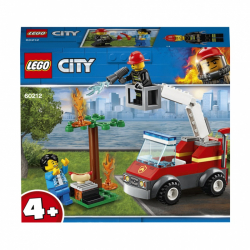 Lego City Grilování a požár