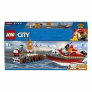 LEGO City - Pożar w dokach