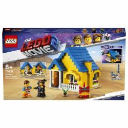 LEGO Movie - Dom Emmeta/Rakieta ratunkowa 70831