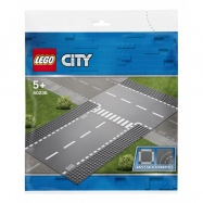 Lego City Rovná cesta s křižovatkou
