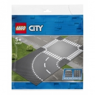 Lego City Zatáčka s křižovatkou