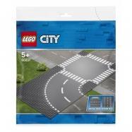 LEGO City - Zakręt i skrzyżowanie