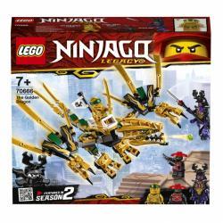 LEGO Ninjago - Złoty Smok 70666