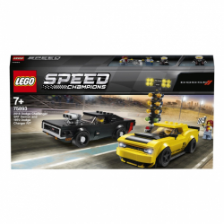 Lego Speed Champions 2018 Dodge Challenger SRT Demon a 1970 75893