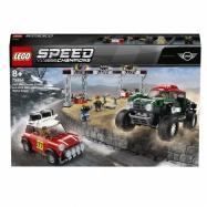 Lego Speed Champions 1967 Mini Cooper S Rally a 2018 MINI Jo 75894