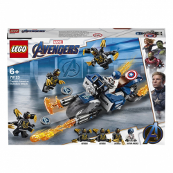 LEGO Super Heroes - Kapitan Ameryka: atak Outriderów 76123