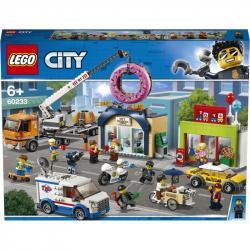 Lego City Town Otevření obchodu s koblihami 60233