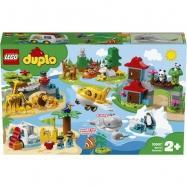 LEGO Duplo - Zwierzęta świata 10907