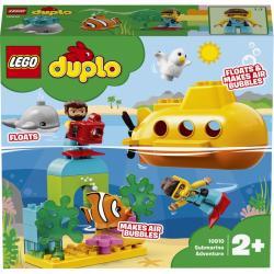 Lego Duplo Town Dobrodružstvo v ponorke 10910