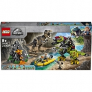Lego Jurassic World T. Rex vs. Dinorobot 75938