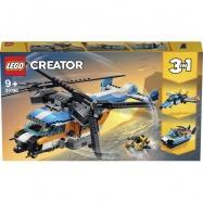LEGO Creator - Śmigłowiec dwuwirnikowy 3w1 31096