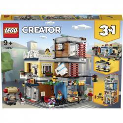 Lego Creator Zverimex s kavárnou 31097