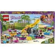 Lego Friends Andrea a party u bazénu 61374