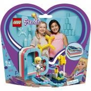 Lego Friends Stephanie a letní srdcová krabička 41386