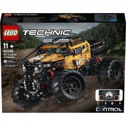 LEGO Technic - Zdalnie sterowany pojazd terenowy 2w1 42099