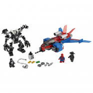 Lego Super Heroes Spiderjet vs. Venomův robot