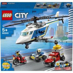 Lego City Prenasledovanie s policajnou helikoptérou