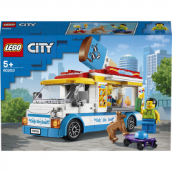 Lego City Zmrzlinářské auto