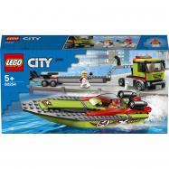 Lego City Přeprava závodního člunu