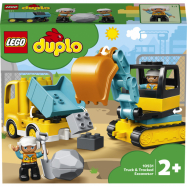Lego Duplo Nákladiak a pásový bager