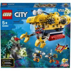 Lego City Oceánská průzkumná ponorka
