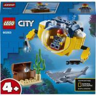 Lego City Oceánska mini ponorka