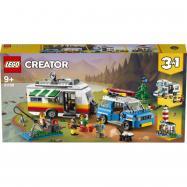 Lego Creator Rodinná dovolenka v karavane