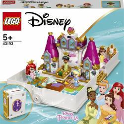 LEGO® Aj Disney Princess ™ 43193 Ariel, Kráska, Popoluška a Tiana a ich rozprávková kniha dobr
