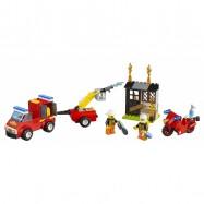 LEGO® Juniors Kufřík hasičské hlídky 10740