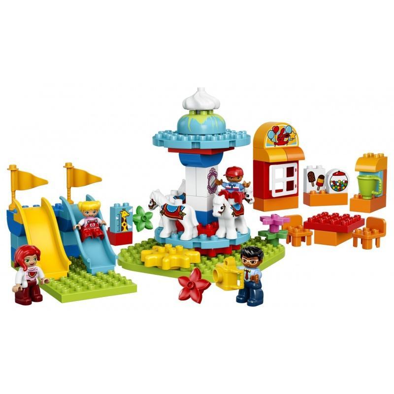 LEGO® DUPLO Zábavná rodinná pouť 10841