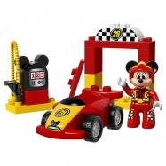 LEGO® DUPLO Mickeyho závodní auto 10843