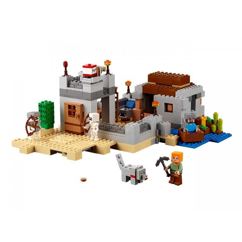 LEGO® Minecraft™ Pouštní hlídková stanice 21121
