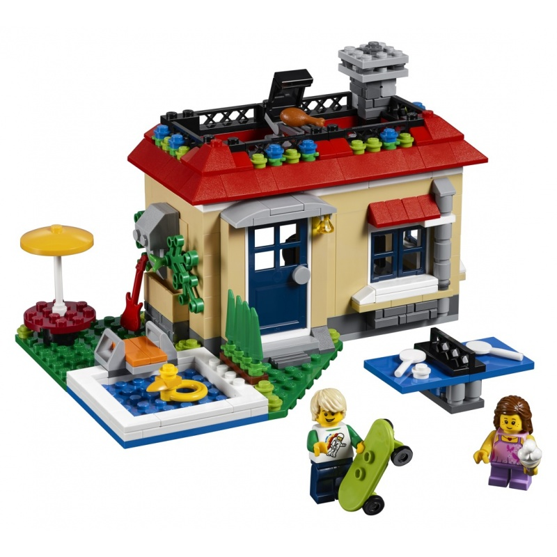 LEGO® Creator Modulární prázdniny u bazénu 31067