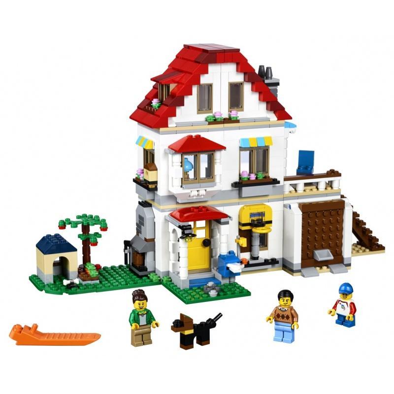 LEGO® Creator Modulární rodinná vila 31069