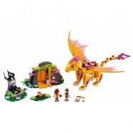 LEGO® Elves Lávová jeskyně ohnivého draka 41175