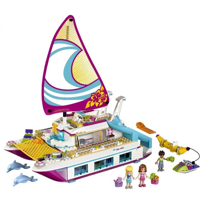 LEGO® Friends Katamarán Sunshine 41317