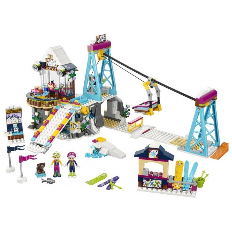 LEGO® Friends Lyžařský vlek v zimním středisku 41324