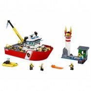 LEGO® CITY Hasičský člun 60109