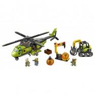 LEGO® CITY Sopečná zásobovací helikoptéra 60123