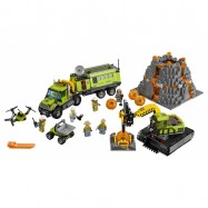 LEGO® CITY Sopečná základna průzkumníků 60124