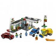 LEGO® CITY Benzínová stanice 60132