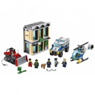 LEGO® CITY Vloupání buldozerem 60140