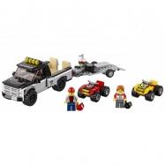LEGO® CITY Závodní tým čtyřkolek 60148